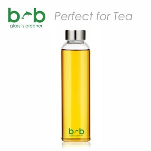 BBBYO Glass Is Greener Bottle + Peace Carry Cover - 570ml